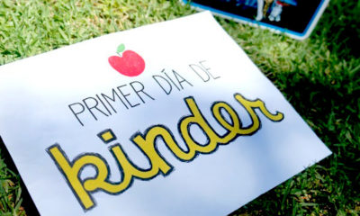 First day of school printable in Spanish | LivingMiVidaLoca.com