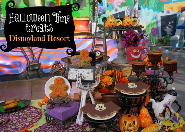 Halloween Time treats at Disneyland Resort