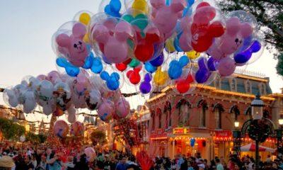 Disneyland balloons on Main Street
