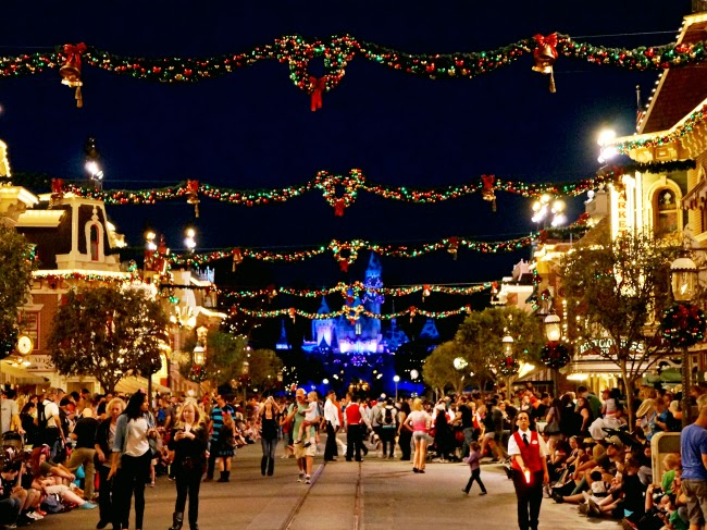 """A Christmas Fantasy"" parade at Disneyland Resort - LivingMiVidaLoca.com"