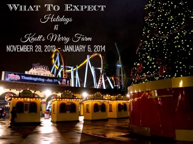 knott's berry farm holiday show guide