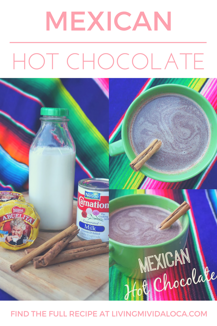 Abuelita Hot Chocolate Recipe you can make at home | livingmividaloca.com | #livingmividaloca #mexicanhotchocolate #chocolateabuelita #traditionalmexicanrecipe #hotchocolaterecipe