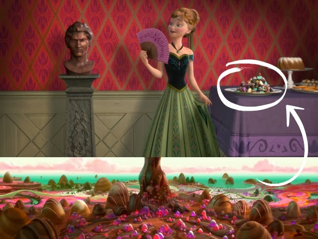 wreck-it-ralph hiddgen gems in Disney's Frozen -- livingmividaloca.com #DisneysFrozen