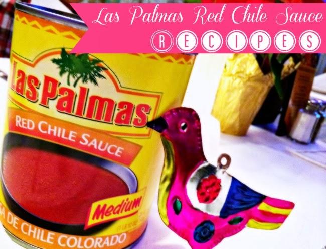 Recipes using Las Palmas Red Chile Sauce - livingmividaloca.com - #LivingMiVidaLoca #MexicanFood #MexicanRecipes