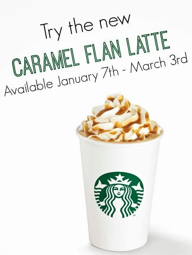 Starbuck's Caramel Flan Latte -- livingmividaloca.com
