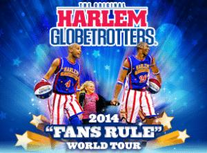 Harlem Globetrotters 2014 tour | LivingMiVidaLoca.com