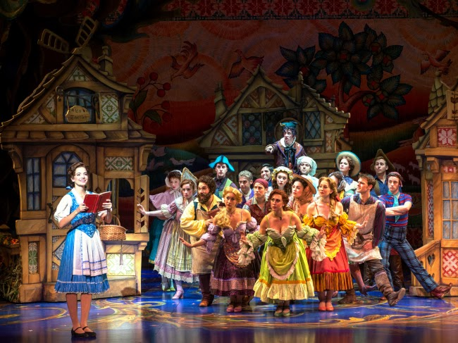 Disney's Beauty and the Beast at Segerstrom Center for the Arts #SCFTA -- livingmividaloca.com