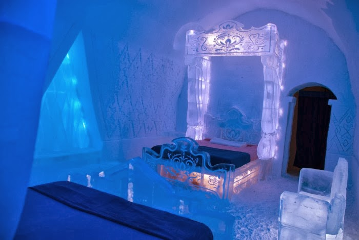 Ice Hotel in Quebec CIty -- livingmividaloca.com