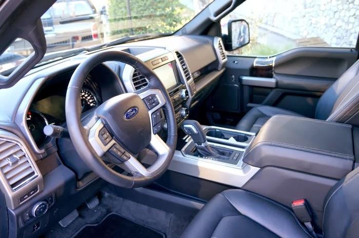 Ford F150 Interior    Livingmividaloca.com #F150