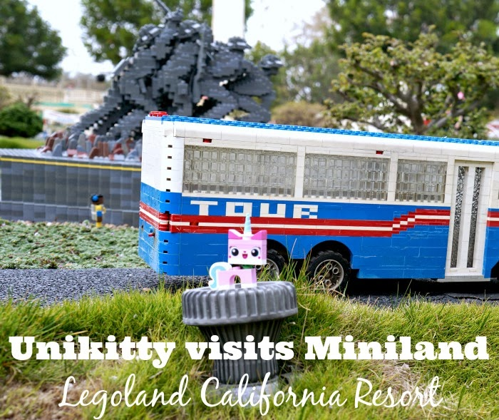 Unikitty at Miniland at Legoland California Resort -- livingmividaloca.com #TheLEGOMovie