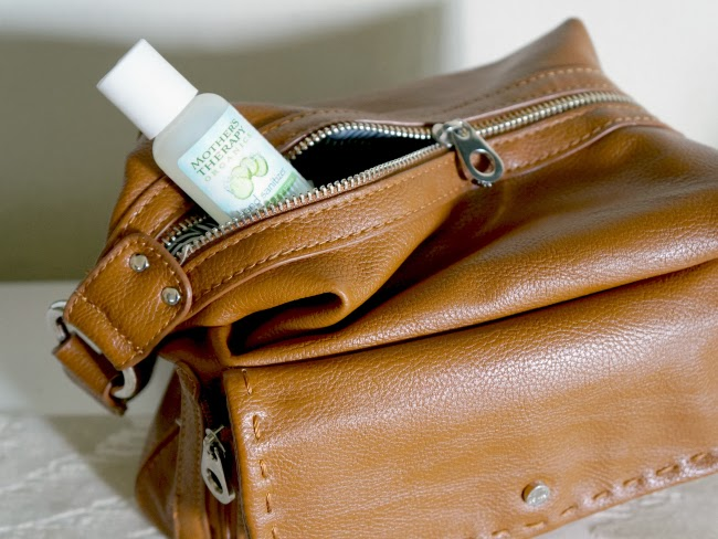 Mother's Therapy Organics travel sanitizer -- livingmividaloca.com