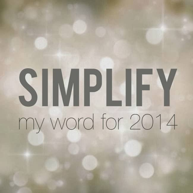 choosing a word to live by in 2014 -- livingmividaloca.com