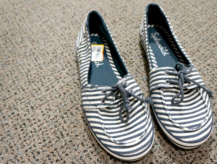 Splendid striped canvas boat shoes -- livingmividaloca.com