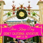 Three Kings Day at Disneyland