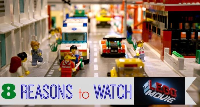 8 Reasons to Watch The Lego Movie -- LivingMiVidaLoca.com #TheLEGOMovie