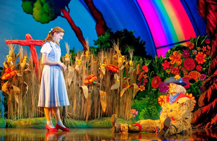 Dorothy in The Wizard of Oz on Broadway | LivingMiVidaLoca.com #WizardOC