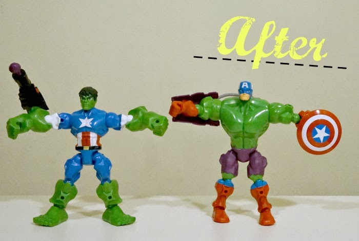 Marvel Super Hero Mashers Toy Review | LivingMiVidaLoca.com #MiMashup