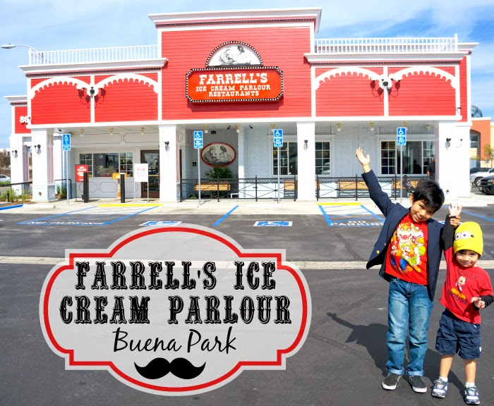 Farrell's Ice Cream Parlour in Buena Park | LivingMiVidaLoca.com #Farrells