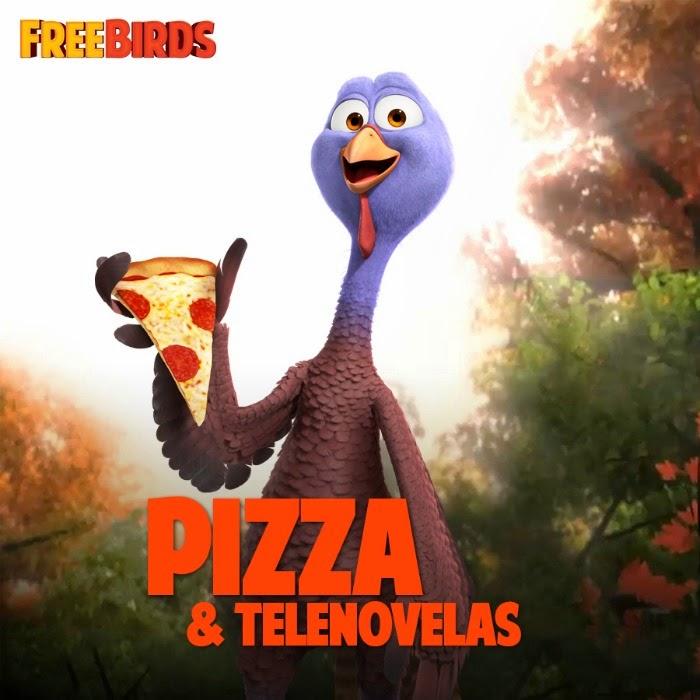 Free Birds - Pizza and Telenovelas   LivingMiVidaLoca.com #FreeBirdsPizzaParty