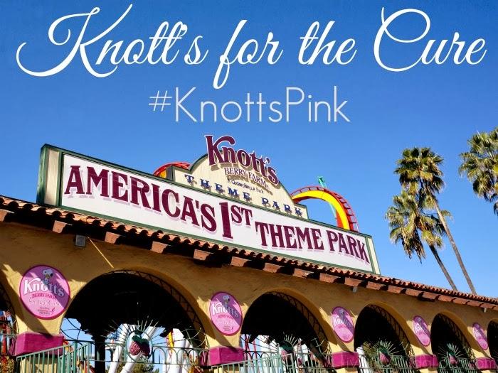 knott's berry farm for the cure | livingmividaloca.com #knottspink