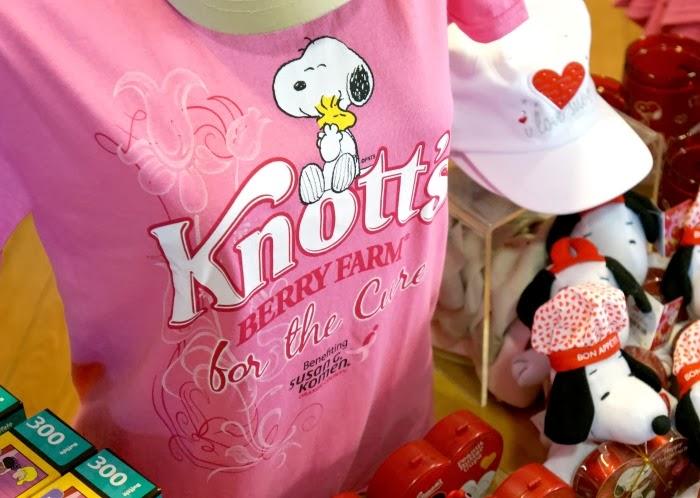 Knott's berry farm merchandise | livingmividaloca.com #knottspink