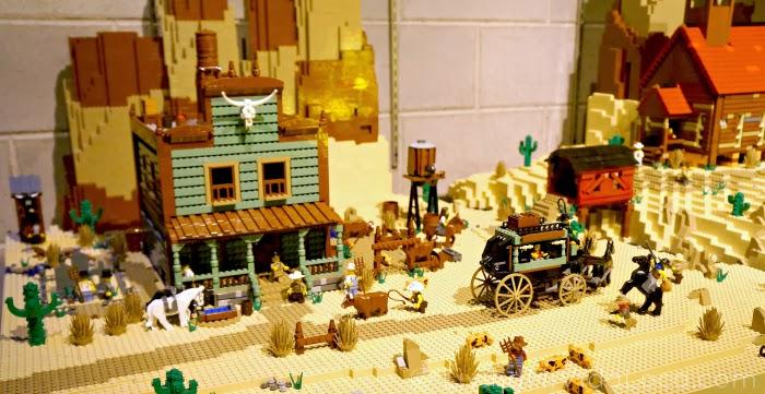 Old West in The LEGO Movie -- LivingMiVidaLoca.com #TheLEGOMovie