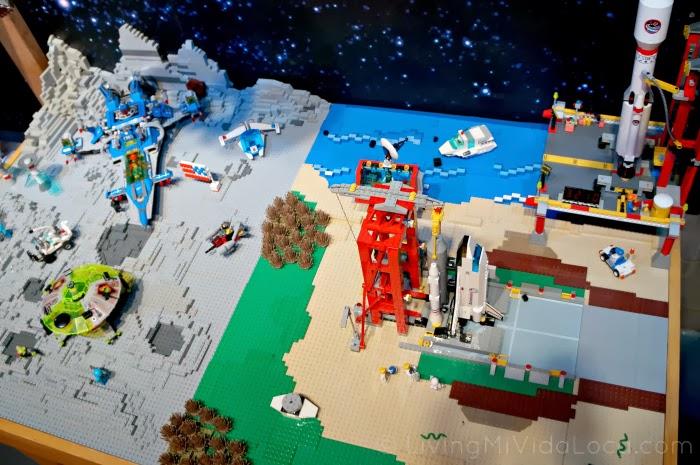 Outer Space in The LEGO Movie -- LivingMiVidaLoca.com #TheLEGOMovie