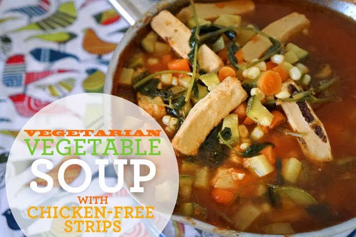 vegetarian-vegetable-soup-chicken-free-strips