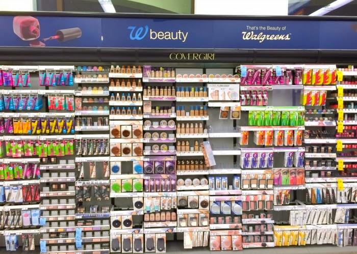 Walgreens beauty aisle