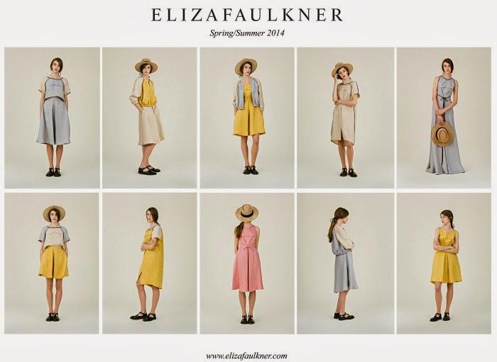 Eliza Faulkner Spring and Summer 2014 collection | LivingMiVidaLoca.com #Spring2014