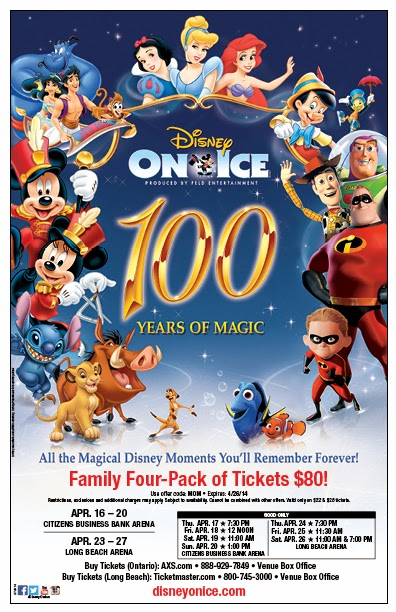 Disney on Ice coupon // livingmividaloca.com