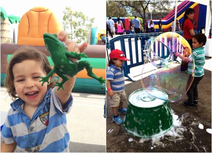 Bubblefest activities at Discovery Science Center // livingmividaloca.com #bubblefest