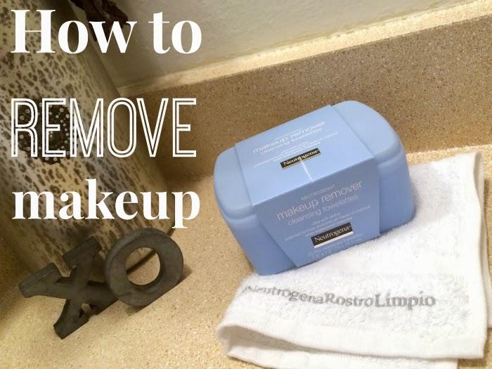 How to remove your makeup in two simple steps - LivingMiVidaLoca.com #NeutrogenaRostroLimpio