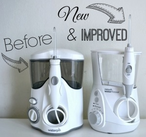 Waterpik water flossers | LivingMiVidaLoca.com #NewAgeInWaterFlossing
