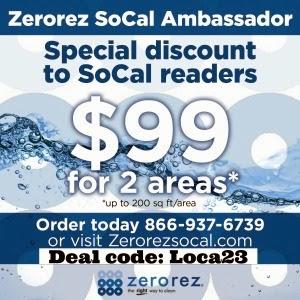 Zerorez deal code | livingmividaloca.com #zerorezsocal