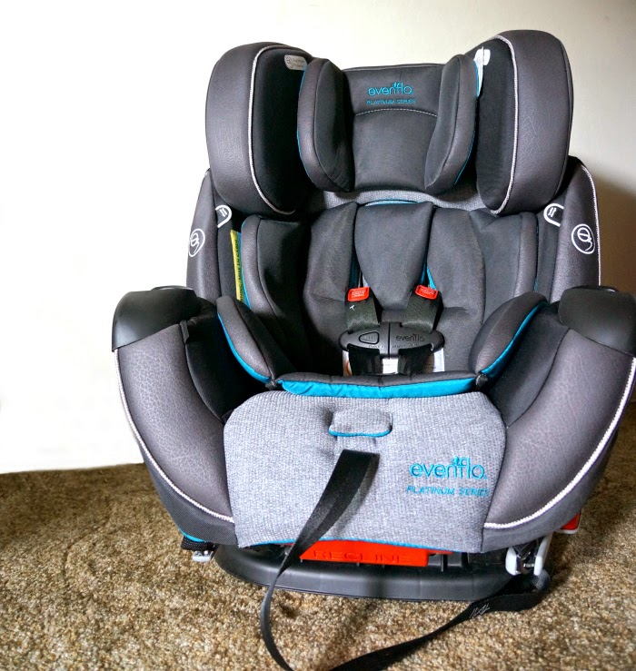 Best Evenflo Platinum Symphony DLX All-In-One Car Seat features // #EvenfloPlatinum