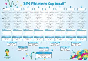 2014 FIFA World Cup Brazil tournament bracket // livingmividaloca.com #CokeSoccerGame
