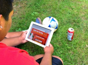 Coke Soccer Game for FIFA World Cup  // livingmividaloca.com #CokeSoccerGame