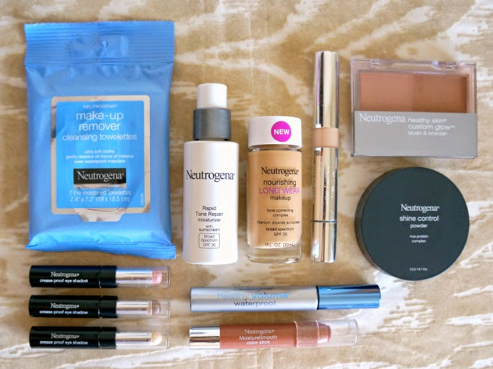 Spring makeup look using Neutrogena products // livingmividaloca.com #NeutrogenaBelleza #ad