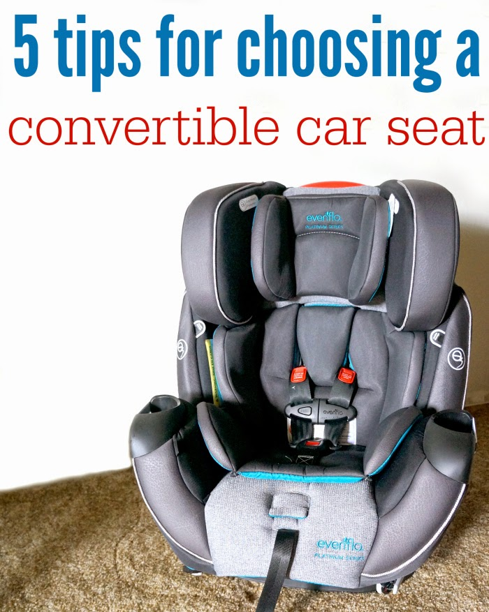tips for choosing convertible car seat