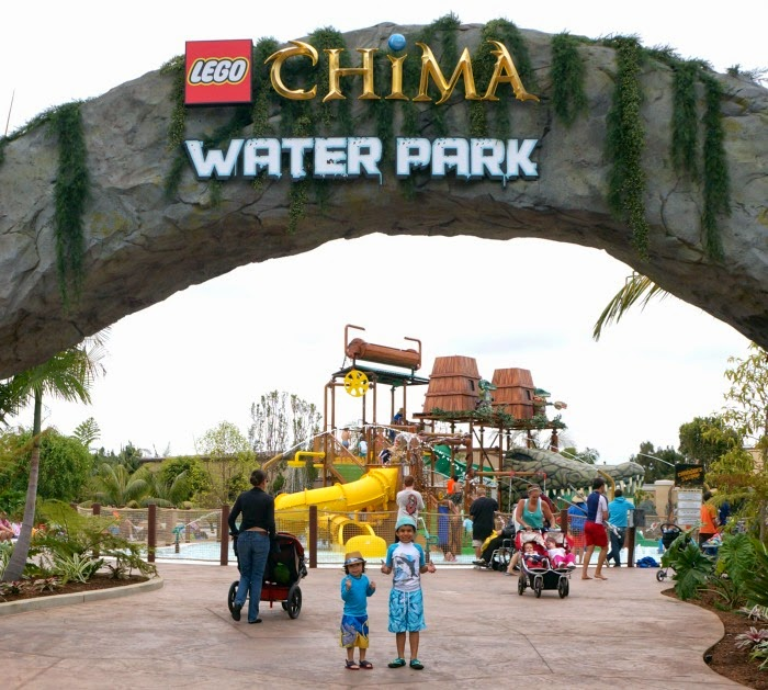 Visiting LEGO Chima Water Park in Carlsbad // LIvingMiVidaLoca.com