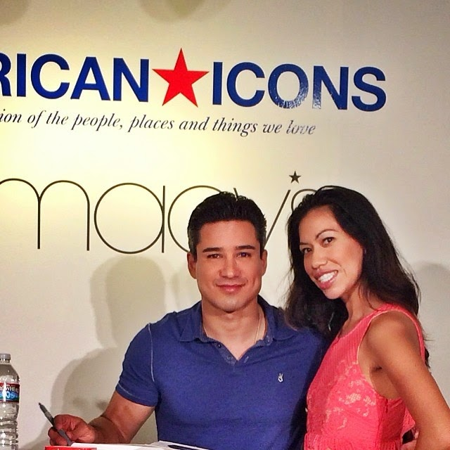 Mario Lopez and Pattie Cordova at American Icons event // #AmericanIcons