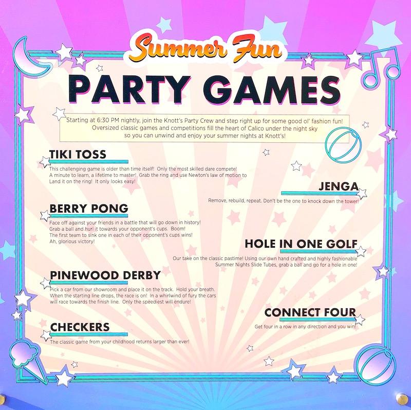 Knott's Summer nights includes family-friendly games at the Knott's Midway - livingmividaloca.com - #LivingMiVidaLoca #KnottsBerryFarm