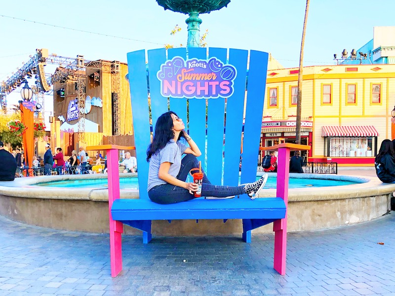 Visiting Knott's Berry Farm during the summer for Knott's Summer nights. - livingmividaloca.com - #LivingMiVidaLoca #KnottsBerryFarm