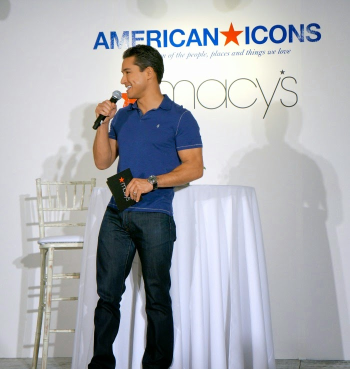 Mario Lopez presents American Icons at Macy's // LivingMiVidaLoca.com #AmericanIcons #ad