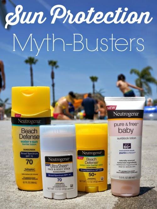 Sun protection myth-busters // LivingMiVidaLoca.com #ChooseSkinHealth