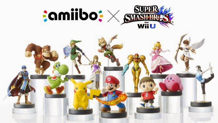 amiibo interactive figurines // #e3
