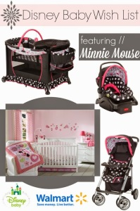 Disney Baby Minnie Mouse wish list // livingmividaloca.com #DisneyBabyGifts