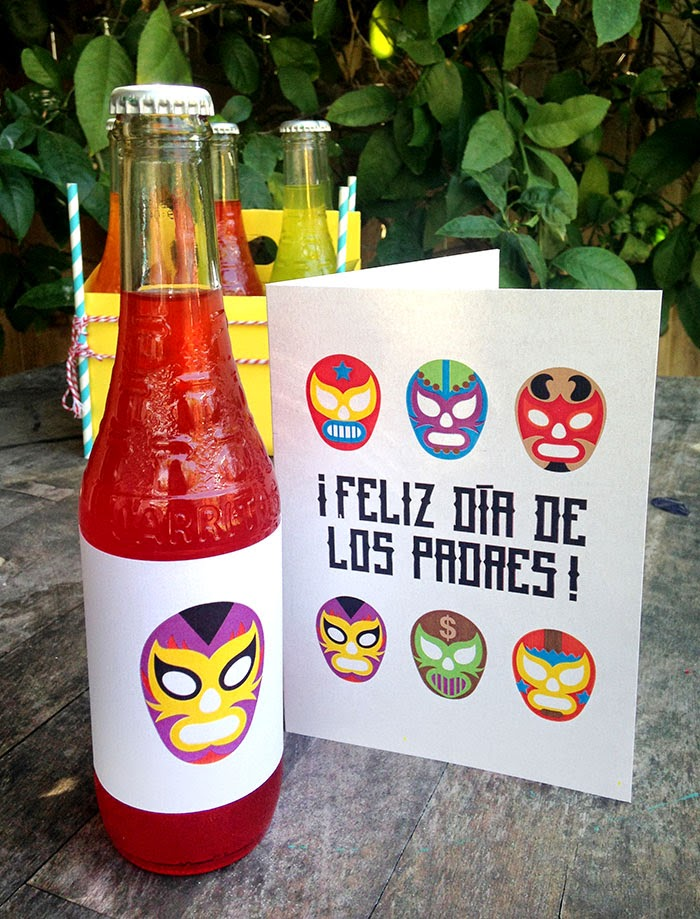 Spanish Father's Day card // livingmividaloca.com #FathersDay #Bilingualism
