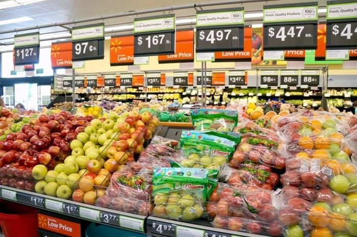produce section at walmart neighborhood market jurupa valley